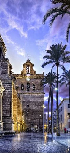 Tower of the Cathedral of Almeria, Spain