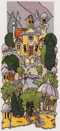 Tuscan Gardens 3 - Michael Powell