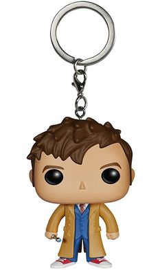 Funko Doctor Who - Dr #10 Action Figure Pocket Pop Keychain Best Price