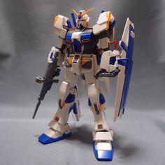 Bandai MG 1/100 RX-78-4 Gundam 4th built model kit MSV Gunpla Action Figure #Bandai