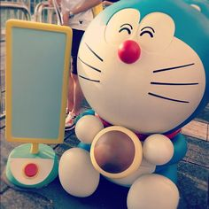#harbour #city #kowloon #hongkong #doraemon #ding #dong #love #blue #monday #afternoon #cute - @adacookie   Webstagram
