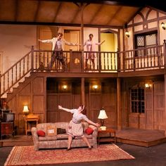 Fall 2011 Noises Off. Photo by Andrew Duff