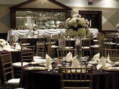 black table cloths and chiavari chairs - Google Search