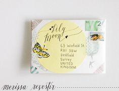 Janna Werner: Mail Art | Inspiration von Merissa Revestir