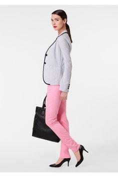 Loving this pink/grey/black combo