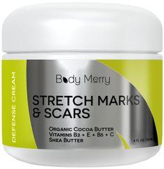 Best Stretch Mark Creams, Best Body Moisturizer, Stretch Marks On Thighs, Coconut Oil Scrub, Stretch Mark Remedies, Scar Cream, Salt Body Scrub, Body Butter, Shea Butter