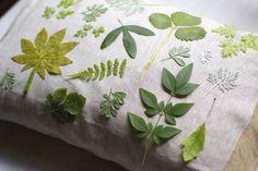 DIY Sunprint Pillow