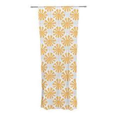 KESS InHouse Sunburst Curtain Panels