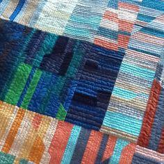 Aerial quilt, carolyn friedlander