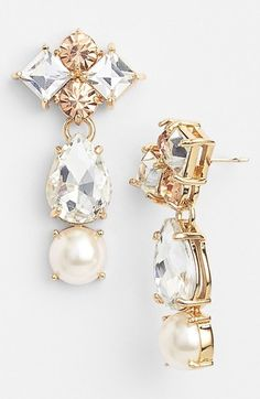 Kate Spade New York 'twinkling Fête' Drop Earrings