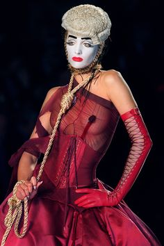 John Galliano for Christian Dior Fall 2000 Haute Couture