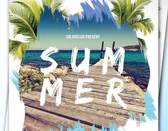 """Check out new work on my @Behance portfolio: """"Summer Flyer"""" http://be.net/gallery/45969119/Summer-Flyer"""
