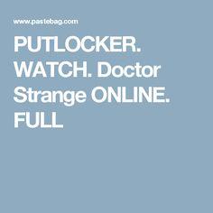 PUTLOCKER. WATCH. Doctor Strange ONLINE. FULL