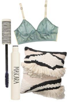 Mascara must+mint bustier+fringe striped lux #r29summerstyle