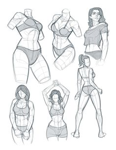 Human Body Drawing, Body Reference Drawing, Art Reference Poses, Body Sketches, Anatomy Sketches, Anatomy Drawing, Body Drawing Tutorial, Sketches Tutorial, Sketch Poses