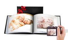 Des albums photos A5 ou A4 en cuir reconstitué avec 20, 40 ou 60 pages, facile à faire et totalement personnalisable