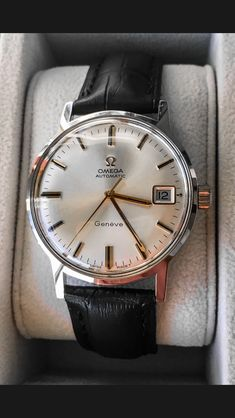 Omega Geneva / 1969 - Omega Geneva / 1969 Informations About Omega Genève / 1969 Pin You can easily use m - Amazing Watches, Beautiful Watches, Cool Watches, Rolex Watches, Stylish Watches, Luxury Watches For Men, Omega Seamaster Quartz, Patek Philippe, Omega Geneve