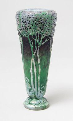 daum nancy scenic vase item 2605005