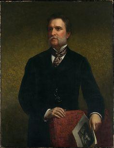 """John Taylor Johnston"" by Daniel Huntington"