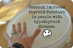 coconut oil for thyroid problems