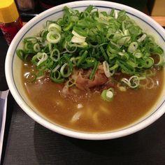 udon au curry.