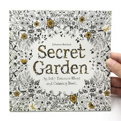 1 PCS 24 Pages Relieve Stress For Children Adult Painting Drawing Book Secret Garden English Edition Kill Time Coloring