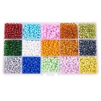 Pandahall 1 Box 15 Color Glass Seed Beads (about Jewelry Making Beads, Jewelry Making Supplies, Bugle Beads, Seed Beads, Children's Day Gift, Cheap Craft Supplies, Crimp Beads, Faceted Crystal, How To Make Beads