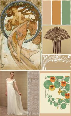 mucha colour scheme