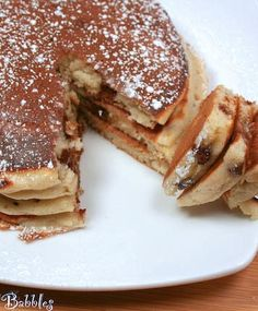 Cannoli Pancakes - FoodBabbles.com #pancakes #cannolis