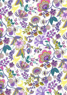 Liberty Art Prints Patterned 100/% Silk Fabric Material Print Clothing Interior
