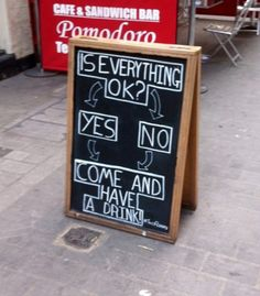 Is Everything OK? | Funny Sign Pictures