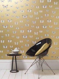 Carlucci Di Chivasso Botanica - Papilio Wallpaper - CH9101/080 - www.4-id-shop.co.uk