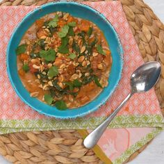 Give your typical chicken stew a spicy and nutty twist. A warm, ultra delicious dish to comfort you on those chilly days & nights.