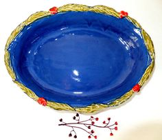 Hey, I found this really awesome Etsy listing at https://www.etsy.com/listing/174497556/large-handmade-ceramic-casserole-pan