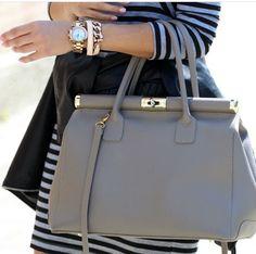 Grey bag #be classy