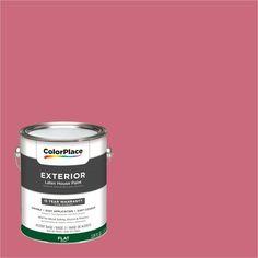 ColorPlace Exterior Paint, Watermelon Smoothie, #74RR 28/432