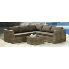 hjørne Outdoor Sectional, Sectional Sofa, Couch, Outdoor Furniture, Outdoor Decor, Home Decor, Modular Couch, Settee, Decoration Home