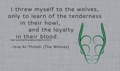 """harrypotterhousequotes: """" SLYTHERIN: """"I threw myself to the wolves, only to learn of the tenderness in their howl, and the loyalty in their blood."""" -Isra Al-Thibeh (The Wolves) """" Slytherin Quotes, Slytherin Pride, Slytherin Aesthetic, Hogwarts, Slytherin House, Harry Potter Houses, Harry Potter Facts, Harry Potter Books, Harry Potter Fandom"""