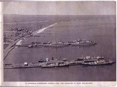 Port Melbourne - 1953 Old Port, Melbourne Victoria, St Kilda, Amazing Pictures, Melbourne Australia, Historical Photos, Old Photos, Seaside, Boats