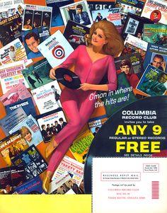 Columbia Record Club:  my parents belonged...