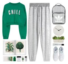 """Chill"" by doga1 ❤ liked on Polyvore featuring Oysho, adidas, Giorgio Armani, Holly's House, NARS Cosmetics, Honey Corn and Bobbi Brown Cosmetics"