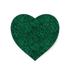Green Glitter Heart Sticker - beautiful gift idea present diy cyo Glitter Hearts, Green Glitter, Cool Gifts, Unique Gifts, Glitter Gifts, Cool Stickers, Personalized Gifts, Presents, Sparkle