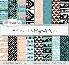 Name Labels Chevron Zigzags with Triangles and Dots Pastel Colored Illustration Suitcase Address Label