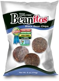 One pinner said: Beanitos Black Bean - Very low on the glycemic index - finally a chip for those on the South Beach diet! Invented by a guy in Austin. So-so on their own - great with salsa or dip!