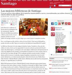 Las mejores bibliotecas de Santiago