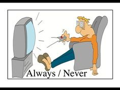 """""""I always and I never"""" English Conversation Practice."""