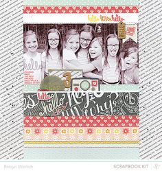 Hello Cousins Layout by Robyn Werlich using the July Kits at @Studio Calico