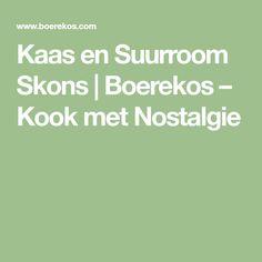 Kaas en Suurroom Skons   Boerekos – Kook met Nostalgie Savory Snacks, Breakfast Recipes, Breakfast Ideas, Easy Meals, Meet, Stuffed Peppers, Scones, Muffins, Baking