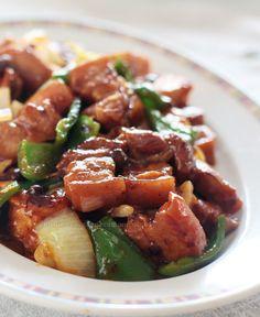 casaveneracion.com Pork and tofu with black beans and chili sauce http://casaveneracion.com/pork-tofu-black-beans-chili-sauce/