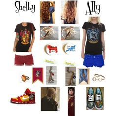 """""""Hogwarts Buddies"""" by onedirection-ariana-lilmix on Polyvore"""